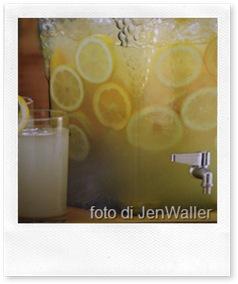 limonata fredda al lime