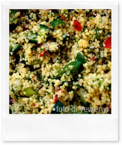 Ricette estive: insalata mediterranea di cous cous