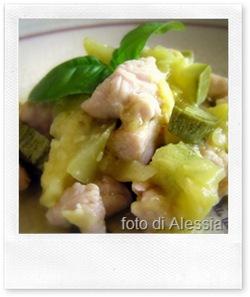 ricette veloci: straccetti di pollo e zucchine