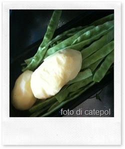 ricette veloci: filetto con patate e fagiolini