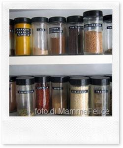 [articolo] Come organizzare la dispensa della cucina
