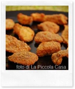 Ricette autunnali: funghi porcini impanati e fritti