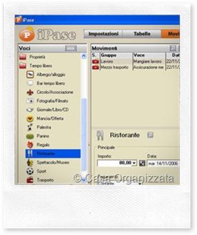 Organizzazione: BILANCIO FAMILIARE sul PC