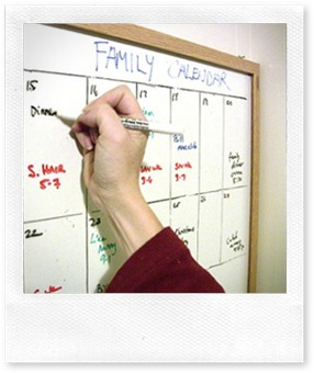 Organizzazione: la prima regola per coinvolgere la famiglia