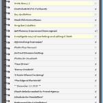 Organizzazione: AUTOFOCUS, to-do list sul PC