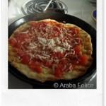 FoodBlogger del Sabato: la pizza in bistecchiera di Araba Felice
