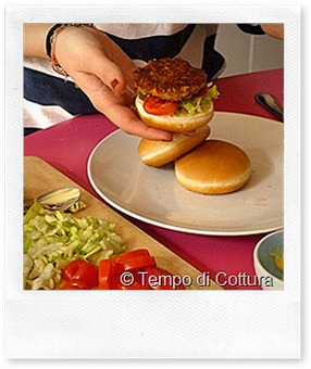 FoodBlogger del Sabato: hamburger vegetariano di Chiara