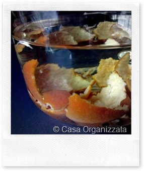 Spray pulitutto fai da te riciclando bucce di agrumi