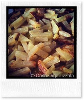 Patatine fritte in olio extravergine di oliva e antiossidanti