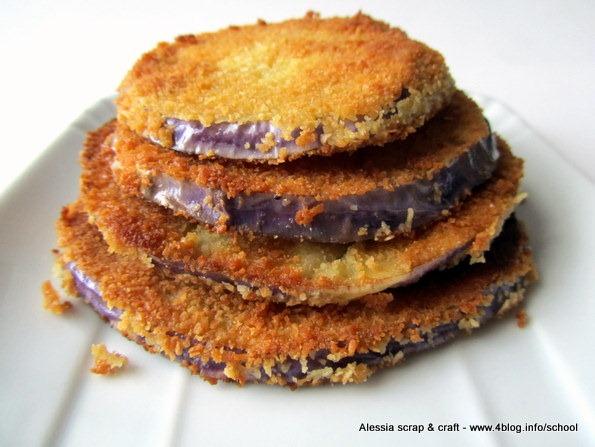 Ricette veloci: cotolette di melanzane impanate e fritte