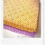 Riciclo creativo: paglietta delicata faidate per i piatti