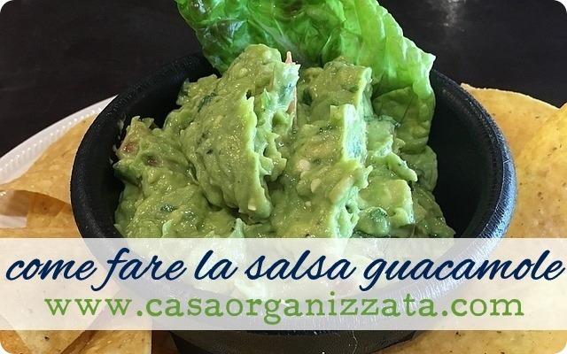 Ricette veloci come fare la salsa Guacamole