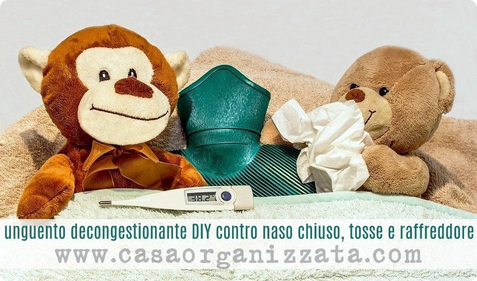 Autoproduzione: Unguento decongestionante contro naso chiuso e raffreddore