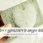 Igiene domestica: Come pulire e igienizzare le spugne della cucina