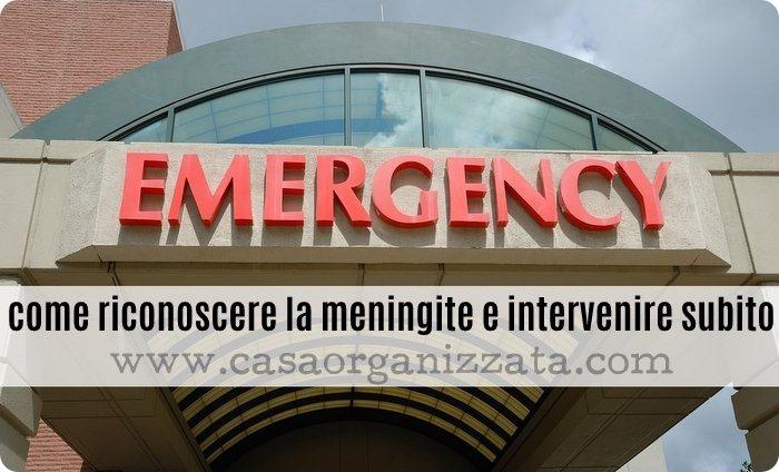 Come riconoscere la meningite per intervenire subito