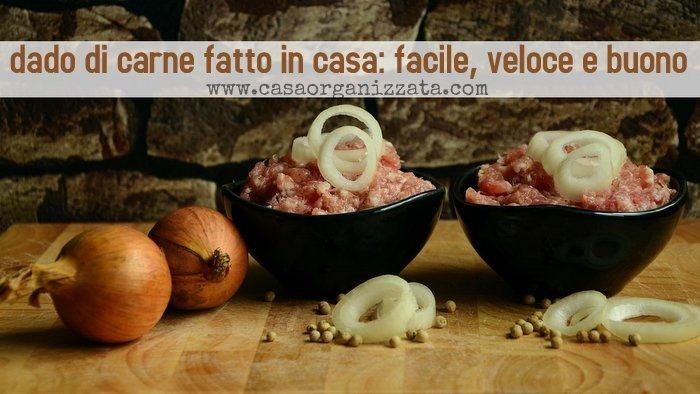 Dado di carne fatto in casa: facile, veloce e buono