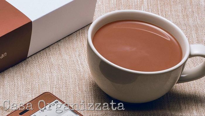 preparato fai da te per cioccolata calda tipo Ciobar