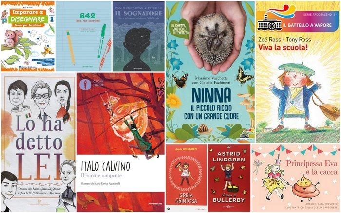 10 libri per bambini e ragazzi a 1 a 15 anni